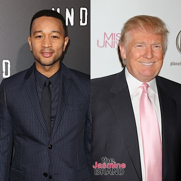 "John Legend Calls Donald Trump A ""Despicable Human Being"" & A ""Sh*tty Person"""