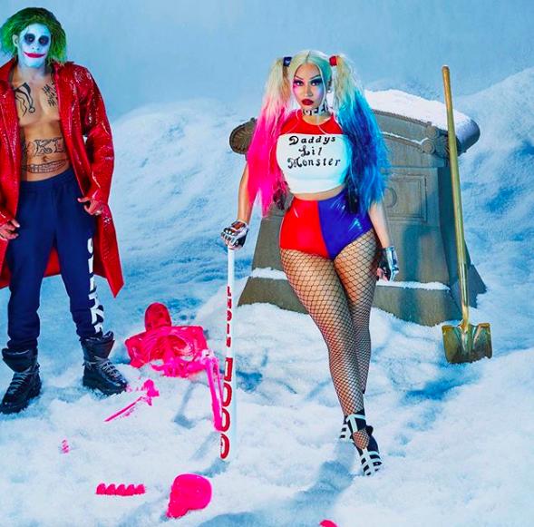Nicki Minaj Shows Off Her Massive Wedding Ring & Shoots ...Nicki Minaj Pasties Halloween