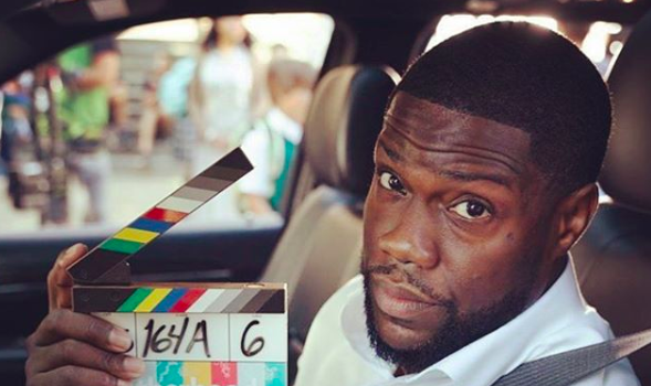 Kevin Hart Is Back At Work After Car Crash