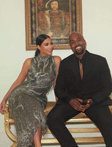 Kim Kardashian Reportedly 'Stressed Out' & 'Worried' About Kanye West's Behavior