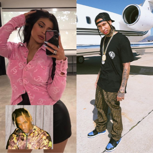 Kylie Jenner Hangs Out With Ex Boyfriend Tyga Amidst Break-Up From Travis Scott
