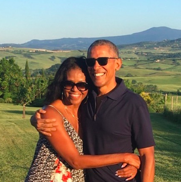 Michelle Obama Says She & Barack Obama Have Been 'Netflix & Chillin' During Quarantine