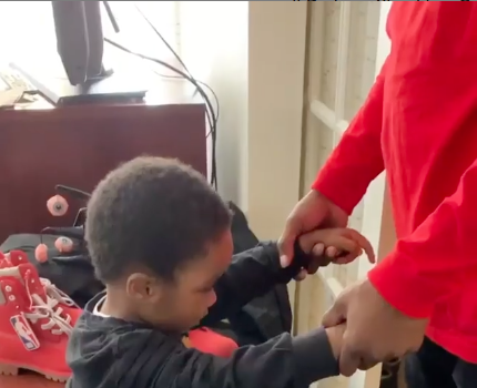 DMX Prays With 4-Year-Old Son, Amidst Rehab Stint [VIDEO]