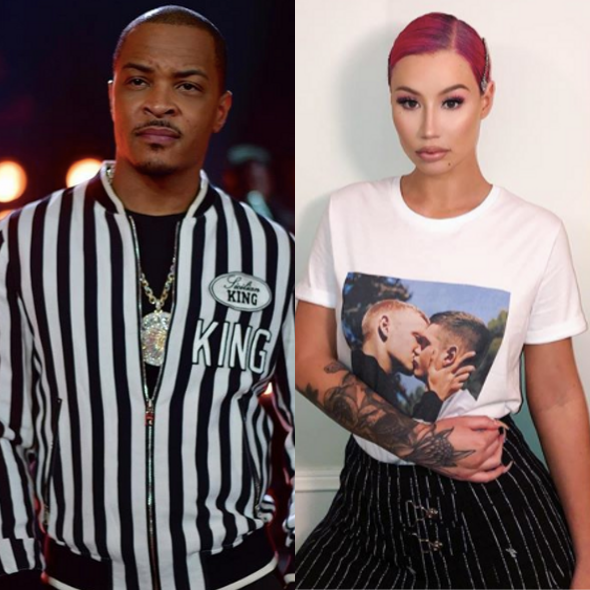 "T.I. Clarifies His Remarks About Iggy Azalea Tarnishing His Reputation, She Responds: ""Stop Bringing Me Up For Relevance!"""