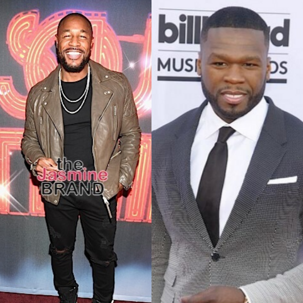 50 Cent Clowns 'Old Suga Tank' After Singer Claimed That One Man Giving Another Man Oral Doesn't Mean He's Gay