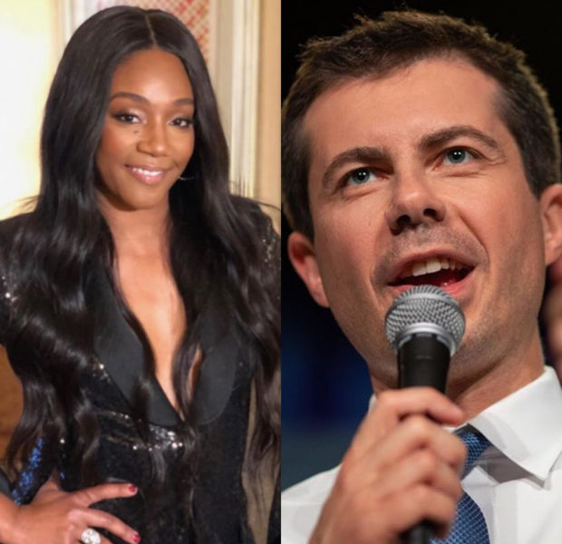 Tiffany Haddish Hints At Endorsing Pete Buttigieg For President