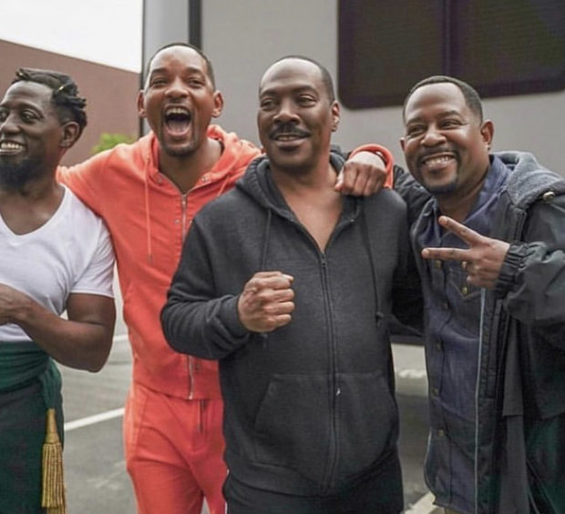 Wesley Snipes, Will Smith, Eddie Murphy & Martin Lawrence Spotted On 'Coming To America 2' Set!