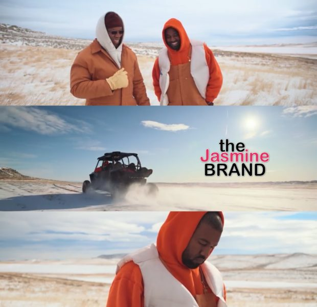 Kanye Bonds With His Father In Wyoming For 'Follow God' Video