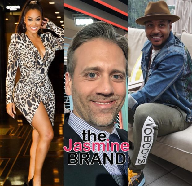 Lala Anthony Defends Husband Carmelo Anthony Against ESPN's Max Kellerman: He's Been Rooting Against Him For Years