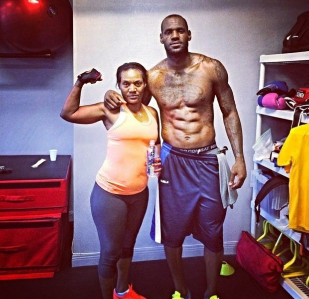 LeBron James Sets NBA Triple-Double Record, Shares Heartfelt Text From His Mom