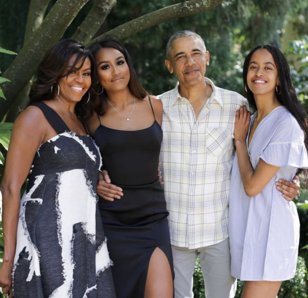 Barack Obama Reveals Malia Obama's Boyfriend Quarantined With Them: My Grocery Bill Went Up 30%