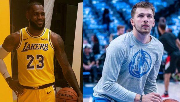 LeBron James & Luka Dincic Make NBA History
