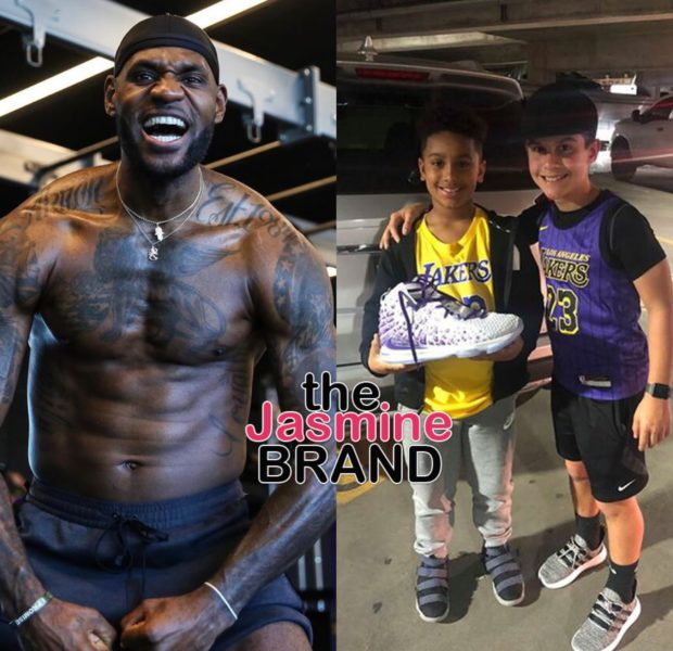 LeBron James Gifts His LeBron 17 Sneakers To 12-Year-Old Fan [VIDEO]