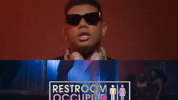 "Yella Beezy Links w/ Chris Brown For ""Restroom Occupied"" Video Feat. Michael Blackson Cameo"