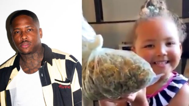 YG Asks 3-Year-Old Daughter To Smell A Bag Of Marijuana, Social Media Reacts [VIDEO]