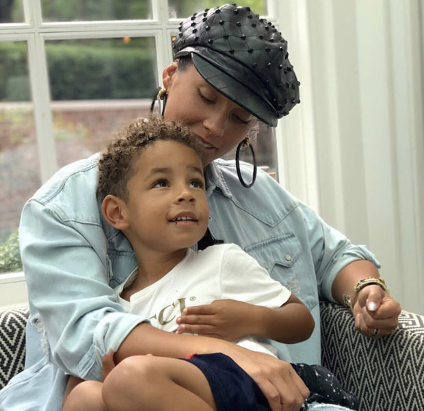 Alicia Keys' 4-Year-Old Son Was Concerned He Would Be Judged For Wearing Rainbow Nail Polish