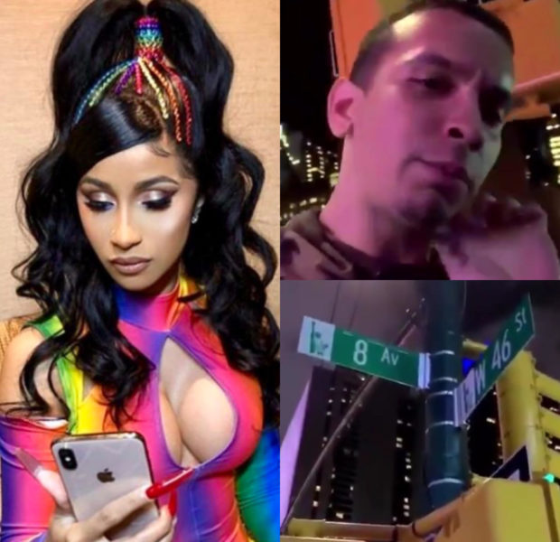 """Cardi B Confronts Trolls on Streets of New York: """"I'm not about trolling! I pull the f*ck up!"""""""