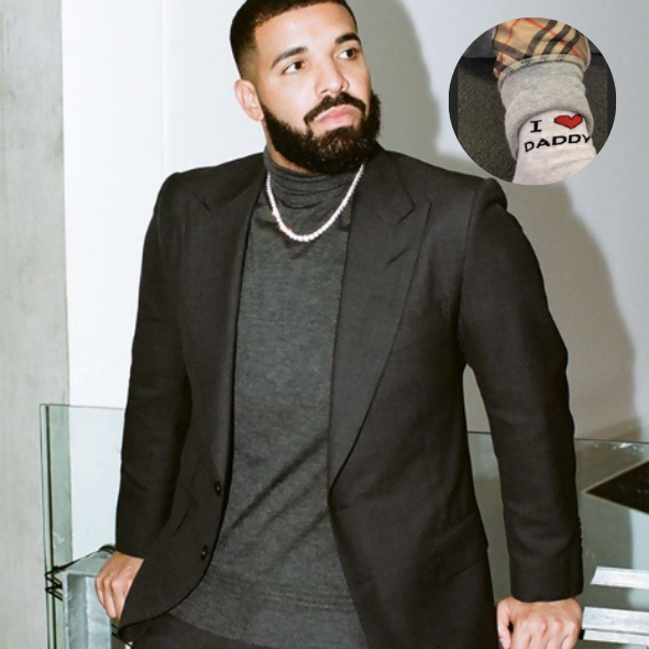 Drake Shares A Glimpse Of Son Adonis [Photo]
