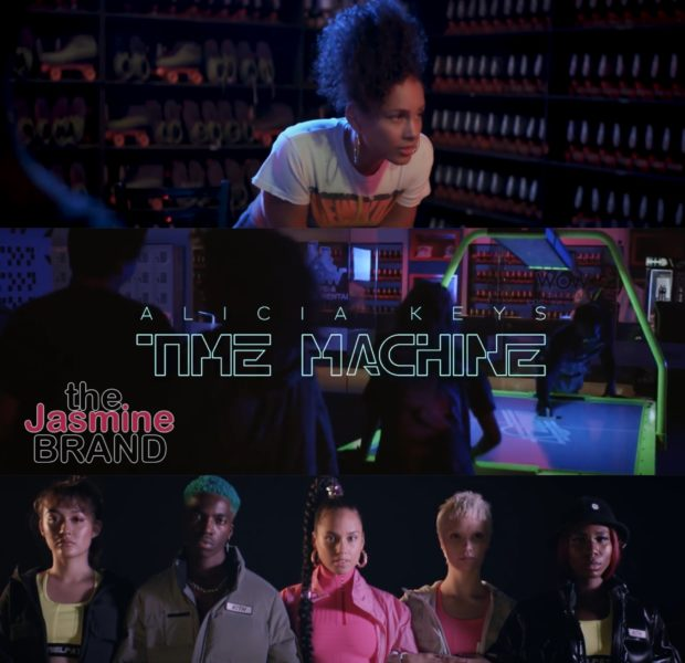 "Alicia Keys Hits Skating Rink For ""Time Machine"" Video [WATCH]"