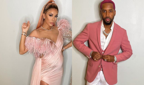 Safaree Samuels Rocks Pink Hair, Impersonates Michael Jackson At His & Erica Mena's MET Gala Themed Baby Shower [VIDEO]