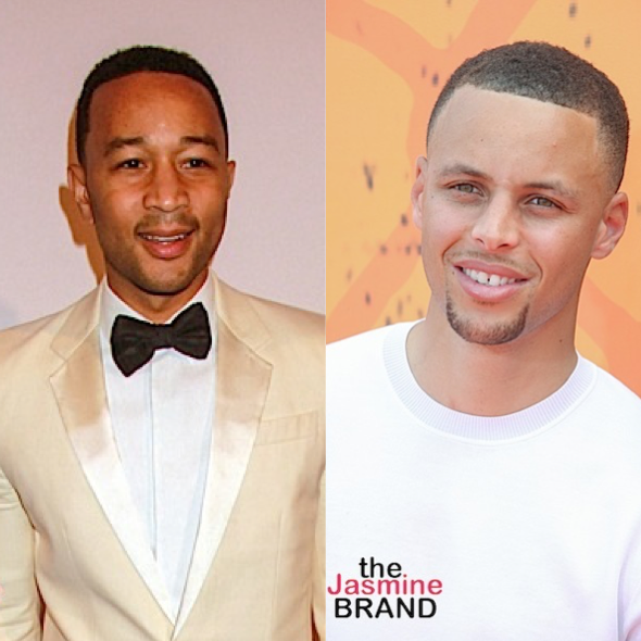 John Legend & Steph Curry Team Up For 'Signing Day' Sports Drama