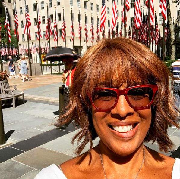 Gayle King Says She Once Did A Nude Shoot In College