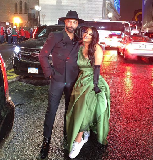 Joe Budden & Ex Cyn Santana Reunite! [Photos]