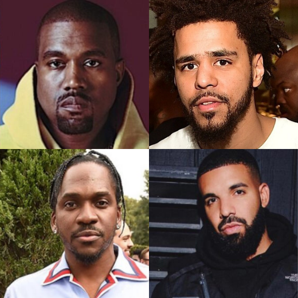 Kanye Addresses J. Cole, Denies Telling Pusha T About Drake's Secret Son In Leaked Song 'Dreams' [AUDIO]