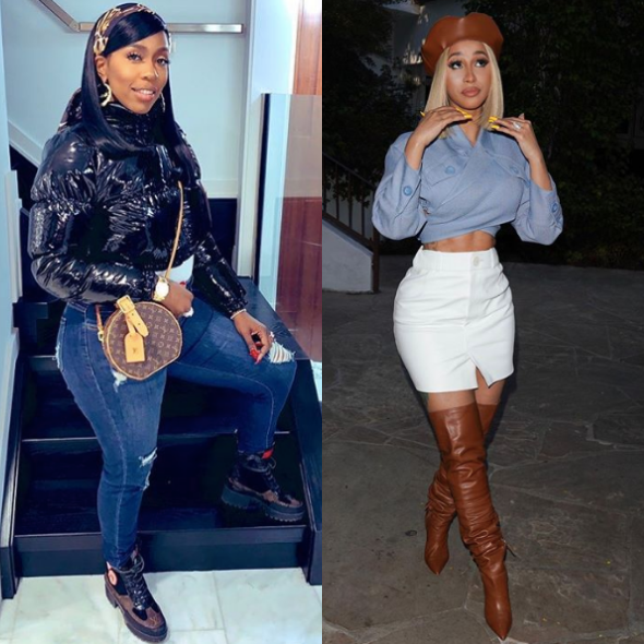Kash Doll Parties With Cardi B: A Whole Bunch Of Misunderstandings But Grown Women Can Kick It [VIDEO]