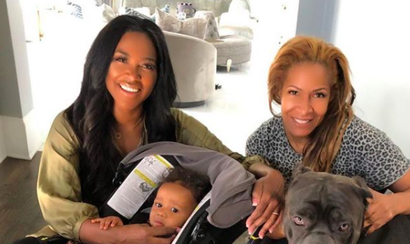 Kenya Moore & Daughter Visit Former RHOA Star Sheree Whitfield [VIDEO]