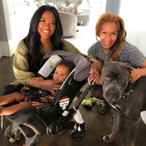 Kenya Moore & Daughter Visit Former RHOA Star Sheree Whitfield [VIDEO]
