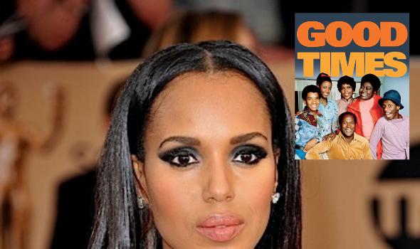 Kerry Washington To Executive Produce Live 'Good Times' Special