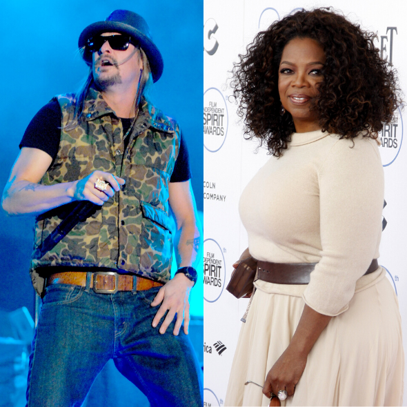 Kid Rock Says He Turned Down Appearance On Oprah Winfrey's Talk Show: I Said F*** That & Her