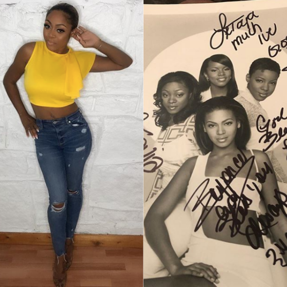 Destiny's Child OG LaTavia Roberson Shares Throwback Group Photo: The Best Years Of My Life!