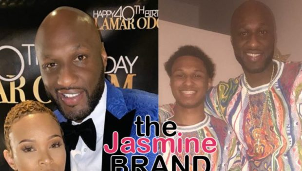 Lamar Odom's Son Lashes Out At Dad's Engagement 'She Has You In The Sunken Place', Later Apologizes