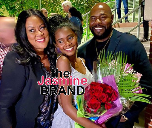 Lela Rochon Poses With Husband Antoine Fuqua & Daughter, In 1st Photo Together Since Nicole Murphy Kissing Scandal