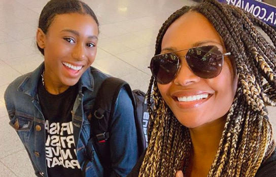 Noelle Robinson Introduced Her Girlfriend To Her Mom, Cynthia Bailey [Photo]