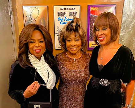 Oprah Winfrey & Gayle King Watch 'TINA' On Broadway With Tina Turner!