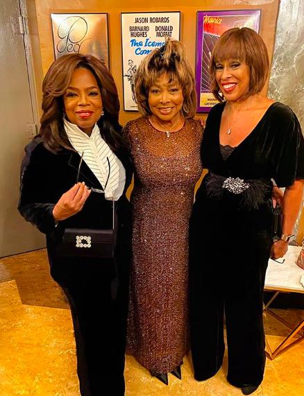 Oprah Winfrey & Gayle King Watch 'TINA' On Broadway With Tina Turner!