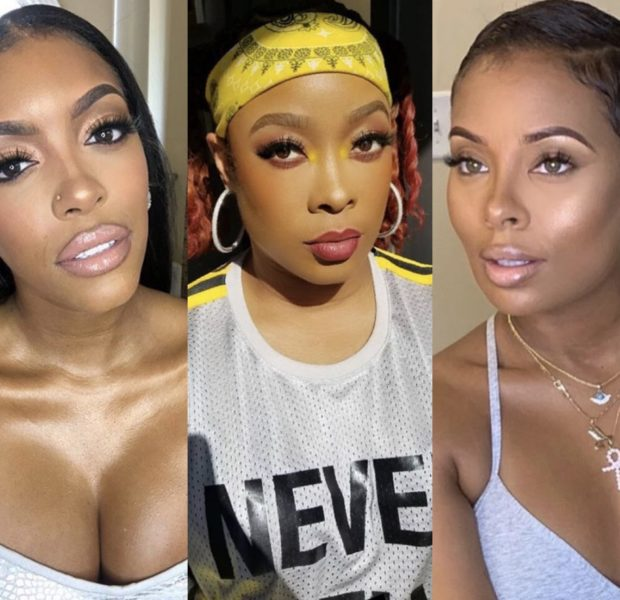 "Porsha Williams Responds To Eva Marcille's ""Nappy Headed"" Remark, Da Brat Has A Problem With Eva Commenting On Porsha's Baby"