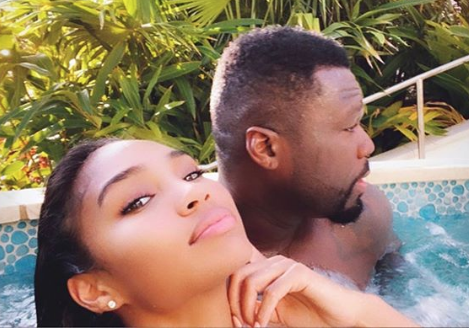 50 Cent & Rumored Girlfriend Jamira Haines Vacation Together [PHOTOS]