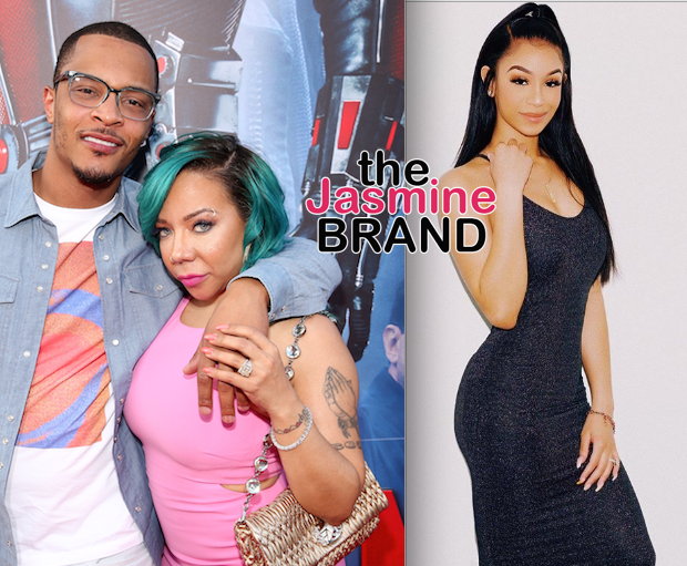 Tiny Harris Reacts To Question About Step Daughter Deyjah Harris, Amidst T.I. Hymen Controversy