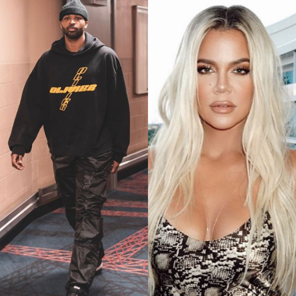 Tristan Thompson Spotted At Dinner W/ Mystery Woman Amid Reports He's Back W/ Khloe Kardashian