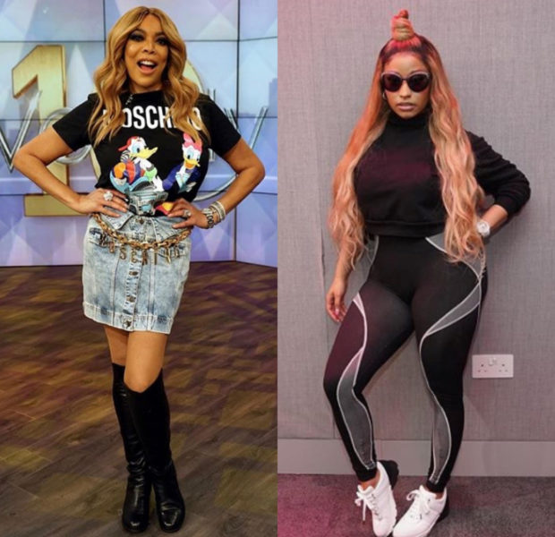 Wendy Williams Congratulates Nicki Minaj On Welcoming Newborn Baby, Says Rapper Is Not A Legend