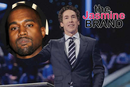 Kanye Refers To Himself As The Greatest Artist That God Has Ever Created During Service At Joel Osteen's Church