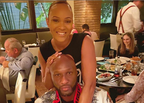 Lamar Odom's Fiancée Sabrina Parr Salutes His Basketball Skills: You Are Still That Guy!