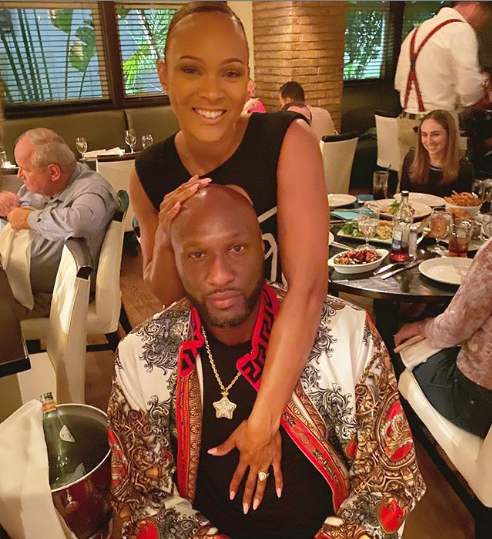 Lamar Odom & Sabrina Parr Are Engaged! [Photos]
