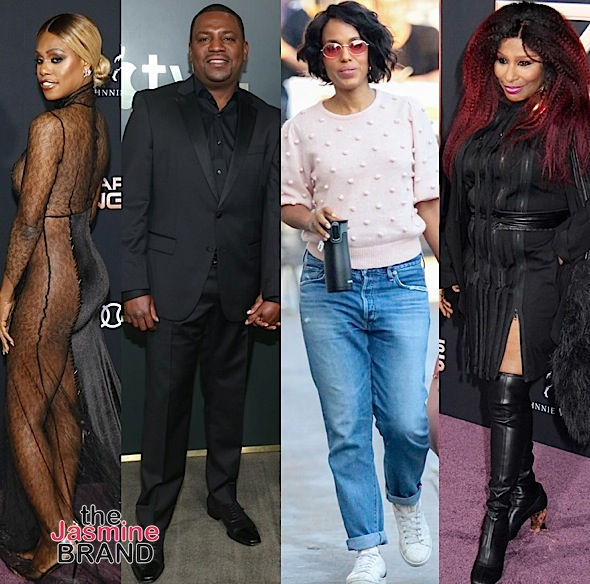 Kandi Burruss, Sterling K. Brown, Tami Roman, Laverne Cox, Mekhi Phifer, Kerry Washington, Chaka Khan [Celebrity Photos]