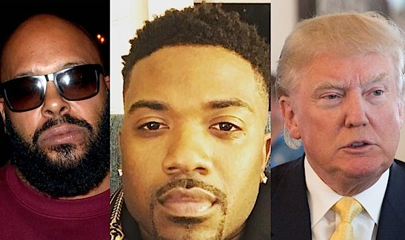 Ray J Trying To Work With Trump Administration To Get Suge Knight Out Of Jail