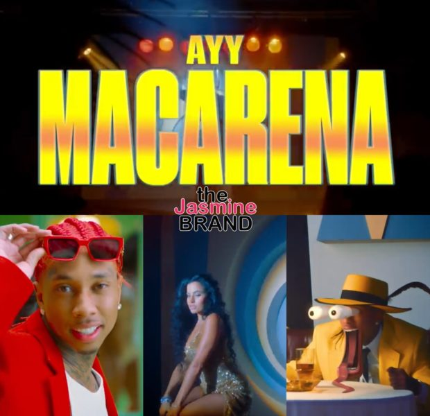 "Tyga Channels 'The Mask' In New ""Ayy Macarena"" Video"